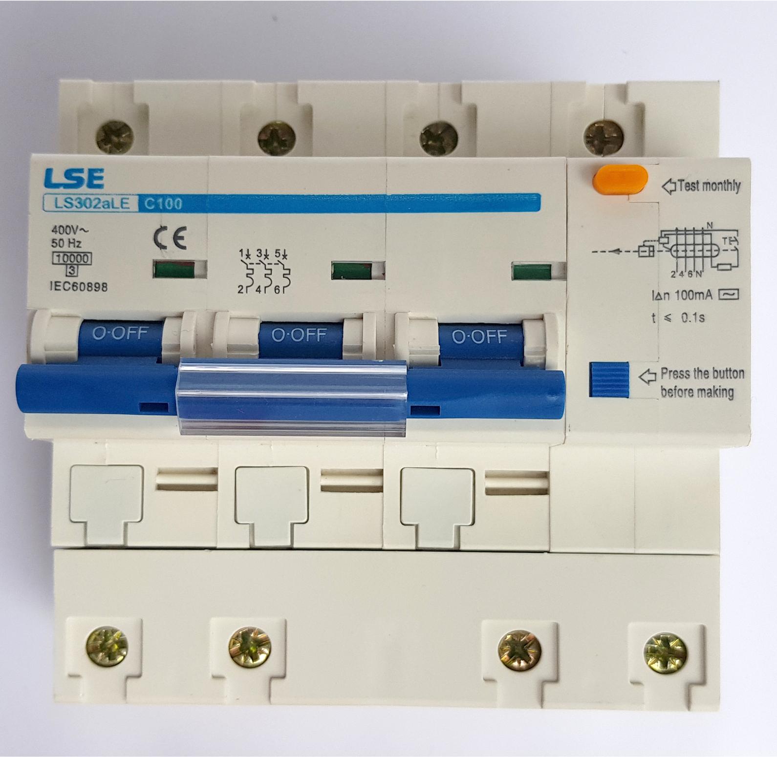 MCB LS302a-3P 125A